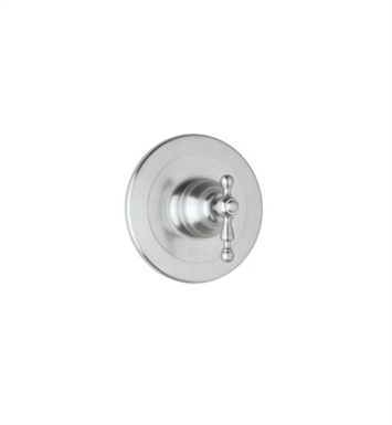 Rohl AC100L-STN Cisal Arcana Trim For Pressure Balance Concealed Bath Or Shower Mixer Without Diverter With Finish: Satin Nickel And Handles: Arcana Ornate Metal Lever Handles